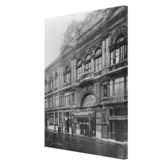 The Criterion Restaurant and Theatre, 1902 Canvas Print