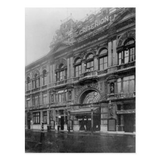 The Criterion Restaurant and Theatre, 1902 Postcard