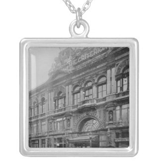 The Criterion Restaurant and Theatre, 1902 Silver Plated Necklace