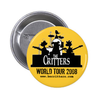 The Critters! concert buttons
