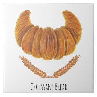 The Croissant Bread Ceramic Tiles