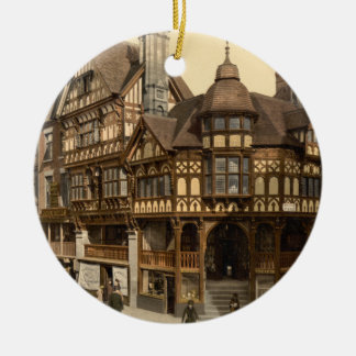 The Cross and Rows, Chester, Cheshire, England Christmas Ornament