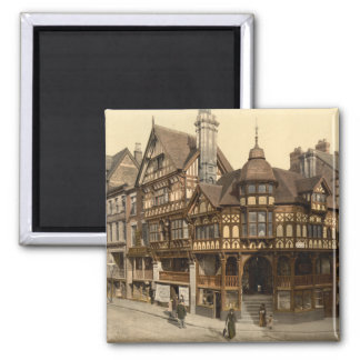 The Cross and Rows, Chester, Cheshire, England Fridge Magnet