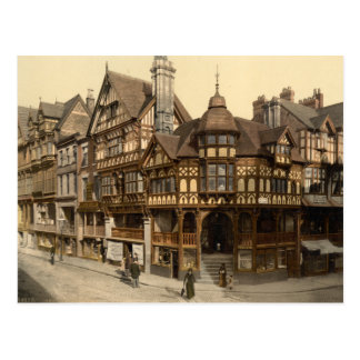 The Cross and Rows, Chester, Cheshire, England Postcard