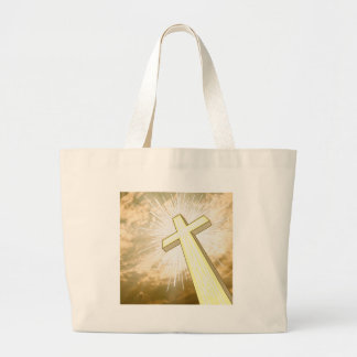 The Cross and The Heavens Canvas Bag