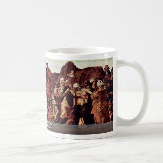 The Cross Of Christ On Calvary Coffee Mugs