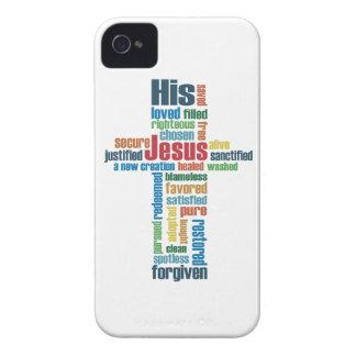 The Cross of Jesus iPhone 4 Case-Mate Case