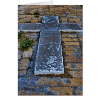 The Cross on the Pathway to Death Card