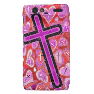 The Cross, the Hearts, the Reds,and the Pinks..... Droid RAZR Covers