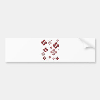 The crosses Basque 3D! Bumper Sticker