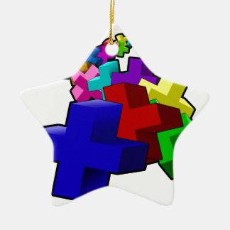 The Crosses Christmas Ornament