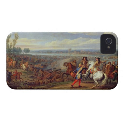 The Crossing of the Rhine, 12th June 1672 (oil on Case-Mate iPhone 4 Cases