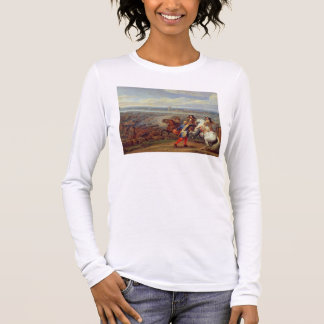 The Crossing of the Rhine, 12th June 1672 (oil on Long Sleeve T-Shirt