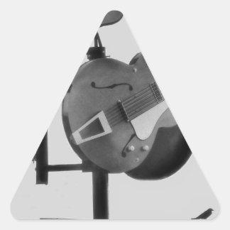 The Crossroads Triangle Sticker