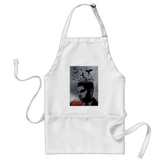The Crow and man Standard Apron