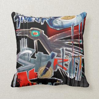 the crow cushion