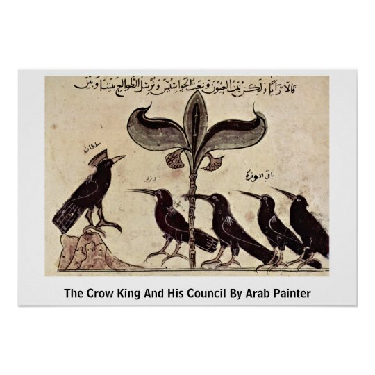 The Crow King And His Council By Arab