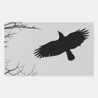 The Crow Rectangular Sticker