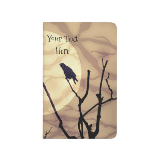 The Crow, The Moon, The Shadows *personalize* Journal