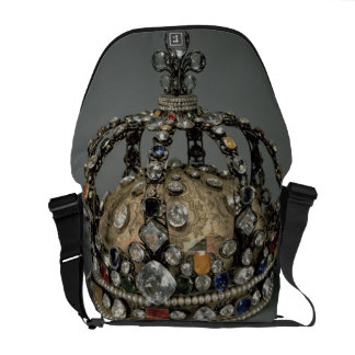 The Crown of Louis XV, 1722 (gilded silver, replac Courier Bag