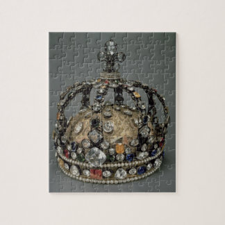 The Crown of Louis XV, 1722 (gilded silver, replac Jigsaw Puzzle