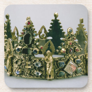 The crown of St. Louis, 13th century (silver-gilt Coasters