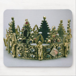 The crown of St. Louis, 13th century (silver-gilt Mouse Pad