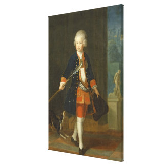 The Crown Prince Frederick II Stretched Canvas Print