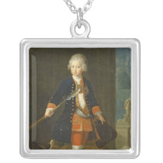 The Crown Prince Frederick II Silver Plated Necklace