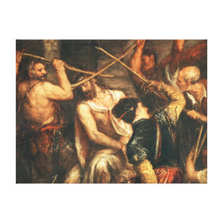 The Crowning with Thorns Canvas Print