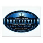 The Crucifiction 11 Cm X 14 Cm Invitation Card