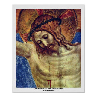 The Crucified And San Domenico Detail Posters