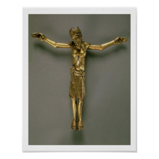 The Crucified Christ, French, second half of 12th Poster