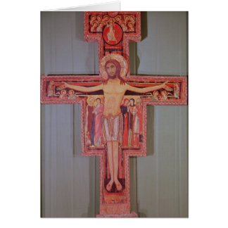 The Crucifix of St. Damian Greeting Card