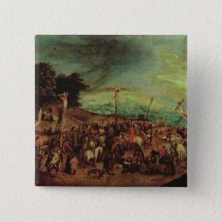 The Crucifixion 15 Cm Square Badge