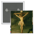 The Crucifixion 2 15 Cm Square Badge