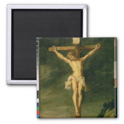 The Crucifixion 2 Square Magnet