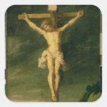 The Crucifixion 2 Square Sticker