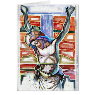 THE CRUCIFIXION CARD