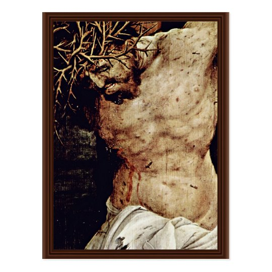 The Crucifixion Detail By Grünewald Mathis Gothart Postcard