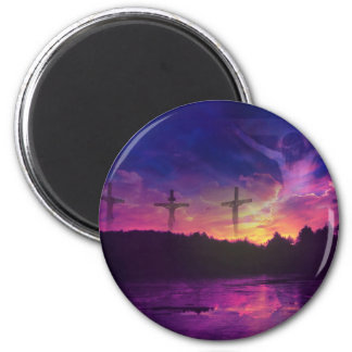 The Crucifixion of Jesus Christ Fridge Magnet