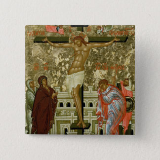 The Crucifixion of Our Lord 15 Cm Square Badge