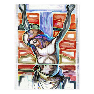 THE CRUCIFIXION POSTCARD