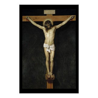 The Crucifixion - Velazquez Poster