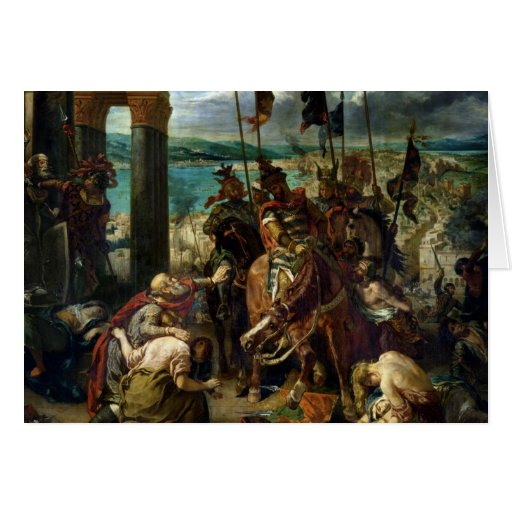 The Crusaders' entry into Constantinople Cards
