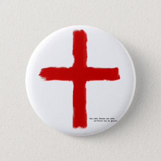 The Crusades - Temple Knights 6 Cm Round Badge