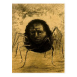 The Crying Spider Postcard