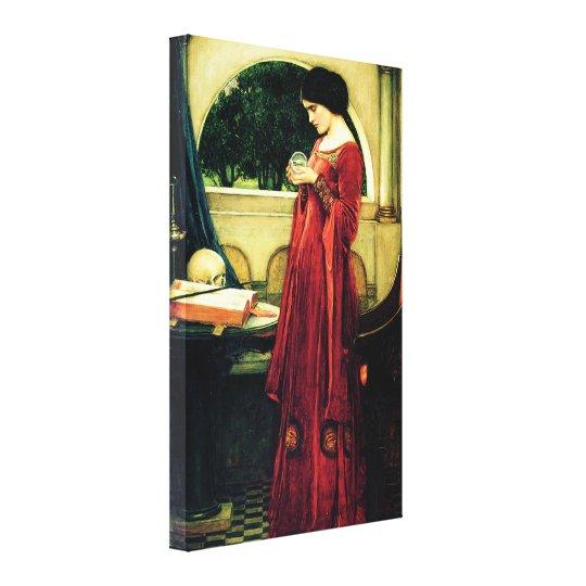 The Crystal Ball (1902) ~ Fine Art Canvas