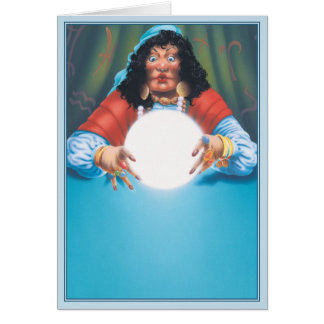 The Crystal Ball © Greeting Card