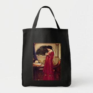 """""""The Crystal Ball"""" Pre-Raphaelite Tote Bag"""